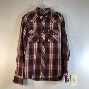 NWOT Salt Valley Western Shirt